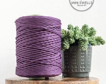 Eeg plant Cotton Rope - Super Soft Luxe Cotton Cord - 5mm - Cotton Rope - Macrame Rope - Diy Macrame - Rope - Weaving - Macrame