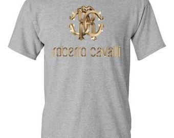 Roberto Cavalli Sports Grey T-Shirt