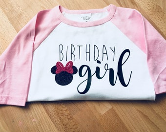 Minnie Mouse Birthday top