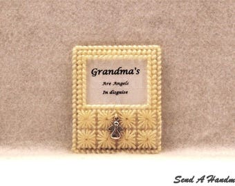 Grandma's Are Angels In Disguise - Fridge Magnet