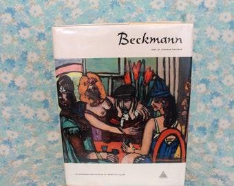 Max Beckmann Art Book. Max Beckmann Coffee Table Art Book. Beckmann Art Print Gift Book. Art Book Gift. Epressionist Art Book