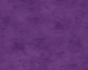 Shadow Play Fabric, 513-V37S, Chive Blossom Purple, Rich Smooth Tonal, Maywood Studio (By YARD)~