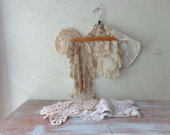 Vintage Collection of 8 Imperfect Doilies