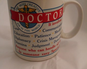 Doctors Mug Coffee Cup Medical Doctor Quote Unique Gift- 11 oz Ceramic Mug Professional Occupation Gift