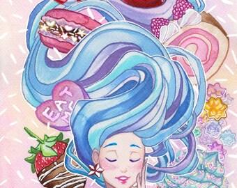 A5/A4 Sweet Dreams Candy Pastel Prints