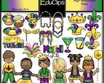 Mardi Gras Clip Art Bundle