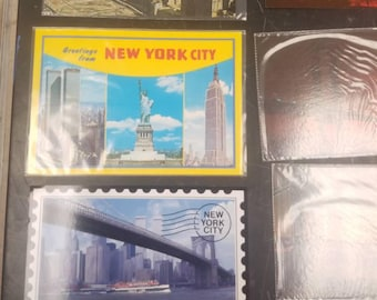 21  Nesters map & guide corp new york city  post cards unused