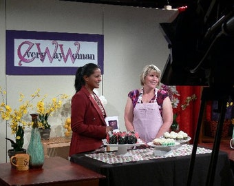 Custom TV  Personalize One of a Kind Apron Arvilla Ruby
