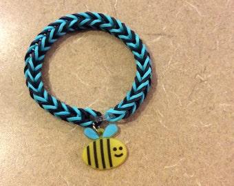 Bee Happy Charm Bracelet