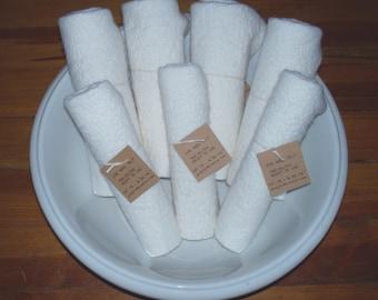 Fat 1/8 Wool Felt White Shades