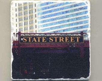 State Street Bridge -  Original Coaster