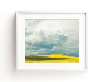 "large landscape wall art, landscape photography wall art, modern landscape prints, large art, large wall art, art - ""Like a Passing Thought"""