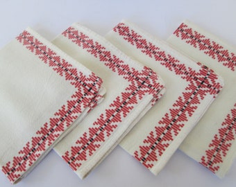 Cotton Cloth Napkins - Set of Four