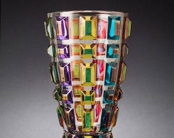 crystal vase Gem Chiarte