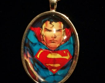 DC Clark Kent Super-Man Pendant