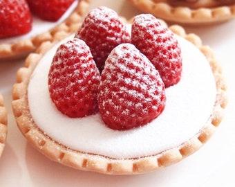 Handmade Soap for All Skin Type Strawberry Tarte Version 1 Cupcake Type Soap