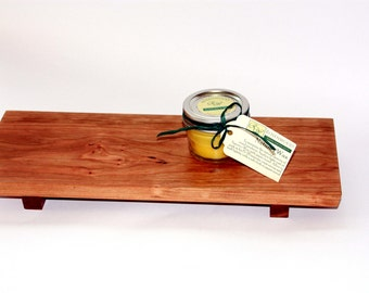 Footed Serving Board Cherry