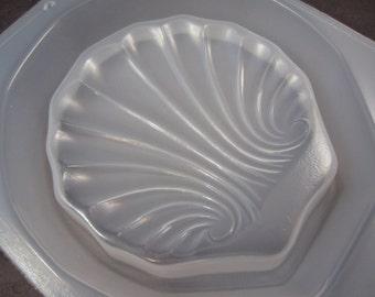 "Resin Mold Soap Dish Sea Shell 4.75"" 118mm Embed Fun Items"