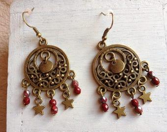 Oriental handcrafted earrings 'Arabian nights.