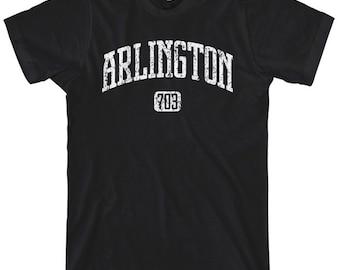 Arlington Virginia 703 T-shirt - Men and Unisex - XS S M L XL 2x 3x 4x - 3 Colors