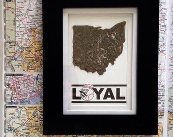 Ohio Dirt Map-Cincinnati Reds- MLB