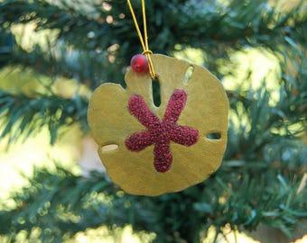 Shell Ornament – Coastal Christmas Ornament – Seashell Ornaments – Beach Ornaments – Sand Dollar Ornaments – Sea Shell Christmas Ornaments