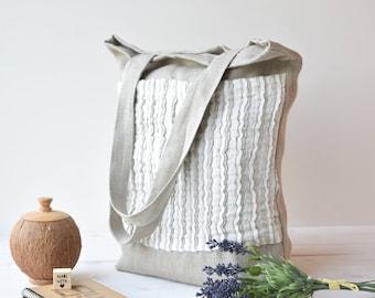 Canvas tote bag, Tote bag canvas, farmers market bag, sac, sac cabas, market Bag, Shopping bag, tote bag, tote bag with pocket, canvas tote