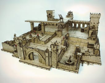 Deep Dark Dungeons Terrain (2 wave)