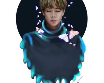Moths, A BTS set- Jin