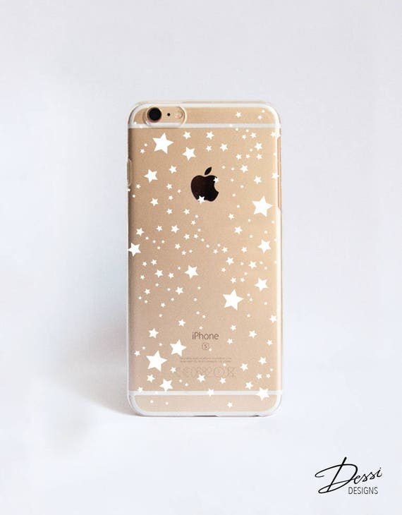Clear stars phone case design for iphone cases samsung for Case design