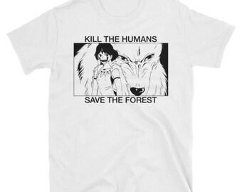 Princess Mononoke Kill The Humans Save the Forest Studio Ghibli