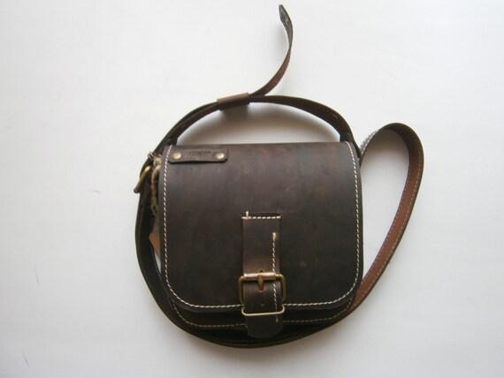Kokoon Crossbodyl Leather brown bag, Genuine Leather Bag, Man Bag, Man Crossbody, Woman Crossbody, Crossover Bag, Handmade