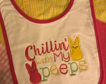 Easter Peeps Bib