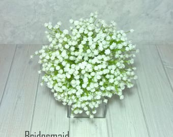 Baby's Breath, Gypsophila, Bridesmaid Bouquet, Wedding, Bride,