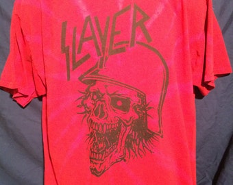 slayer acid tie dye