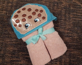 Personalized Cookie Hooded Towel