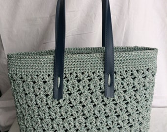 Hand made bag-crochet bag