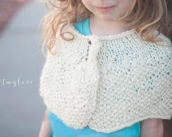 knitting patterns, capelet knitting pattern, easter knitting patterns, patterns for girls, poncho patterns, shrug patterns