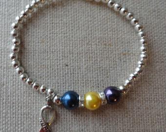 044 Bladder Cancer Awareness Bracelet