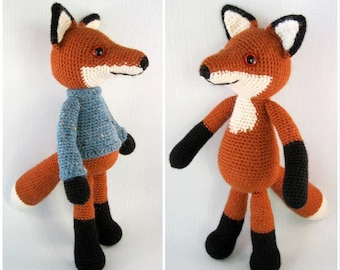 Bracken the Fox Amigurumi Pattern PDF - Crochet Pattern