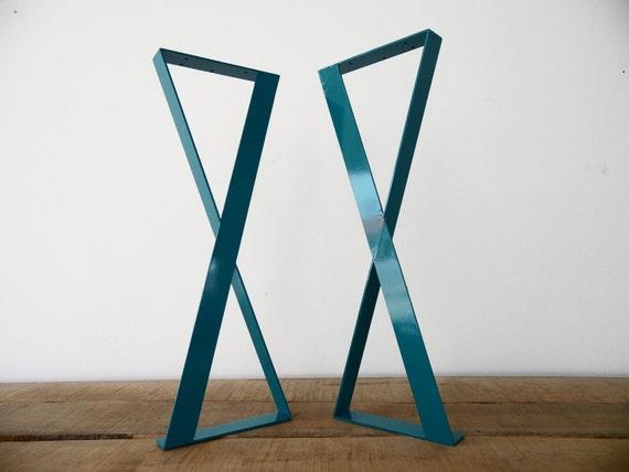 28 X-frame Flat Steel Table Legs 15 Width Table