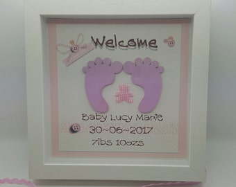 Tiny Toes Baby frame