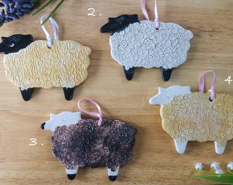 Hanging Sheep Decorations