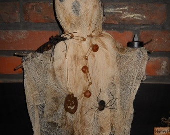 """Scarecrow--""""Gus the Ghostly Scarecrow"""""""