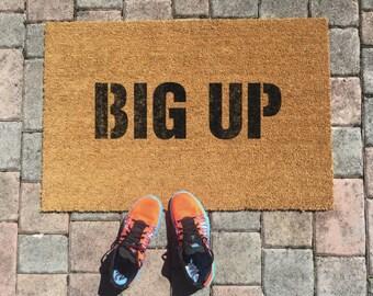 Big Up Jamaican Doormat by One Summer