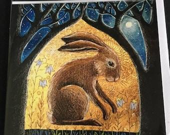 Sacred Glade II Greetings card