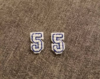 Corey Seager Dodgers 5 Earrings