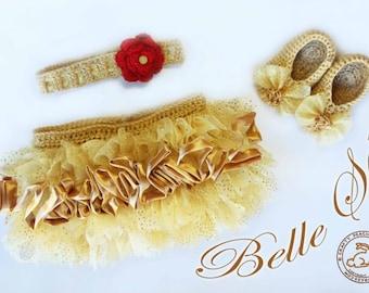 Belle Girl Tutu Set