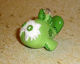 Legend of Zelda - Sand Seal Plushie Necklace - Green Seal Charm