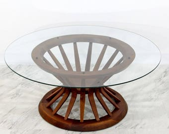 Mid Century Modern Edward Wormley for Dunbar Wheat Sheaf Coffee Table 1950s